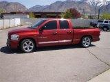 2007 Inferno Red Crystal Pearl Dodge Ram 1500 SLT Quad Cab #29138219