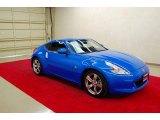2009 Monterey Blue Nissan 370Z Coupe #29201179
