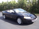 2002 Black Chrysler Sebring GTC Convertible #29201328