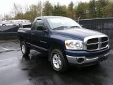 2007 Patriot Blue Pearl Dodge Ram 1500 SLT Regular Cab 4x4 #29201374