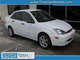 2003 Cloud 9 White Ford Focus ZTS Sedan #29200912