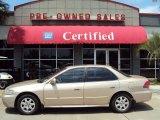 2002 Naples Gold Metallic Honda Accord EX Sedan #29201067