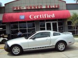 2006 Satin Silver Metallic Ford Mustang V6 Deluxe Coupe #29201068