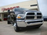 2010 Brilliant Black Crystal Pearl Dodge Ram 3500 ST Crew Cab 4x4 Dually #29201556