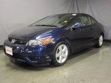 2007 Royal Blue Pearl Honda Civic EX Coupe #29201394