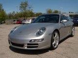 2008 Arctic Silver Metallic Porsche 911 Carrera Coupe #29201212