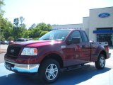 2006 Dark Toreador Red Metallic Ford F150 XLT Regular Cab #29201119