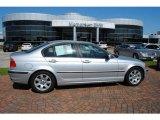 2001 Titanium Silver Metallic BMW 3 Series 325i Sedan #29201470