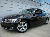 2008 Black Sapphire Metallic BMW 3 Series 328i Convertible #29201012