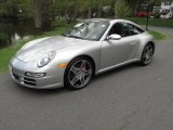 2007 Arctic Silver Metallic Porsche 911 Targa 4S #29201019