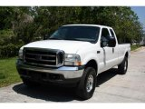 2004 Oxford White Ford F250 Super Duty XLT SuperCab 4x4 #29201296
