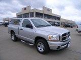 2006 Bright Silver Metallic Dodge Ram 1500 SLT Regular Cab #29201654