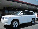 2010 Blizzard White Pearl Toyota Highlander Limited #29266462