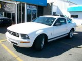 2007 Performance White Ford Mustang V6 Premium Coupe #29265863