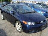 2007 Royal Blue Pearl Honda Civic EX Coupe #29266488