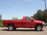 2007 Flame Red Dodge Ram 1500 ST Regular Cab 4x4 #29266024