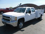 2010 Chevrolet Silverado 3500HD Work Truck Crew Cab 4x4 Chassis Data, Info and Specs