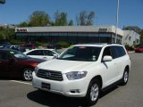 2010 Blizzard White Pearl Toyota Highlander SE 4WD #29266315