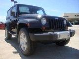 2010 Black Jeep Wrangler Sahara 4x4 #29266580