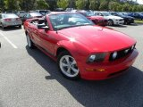 2007 Torch Red Ford Mustang GT Premium Convertible #29266354