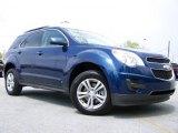2010 Navy Blue Metallic Chevrolet Equinox LT #29265948