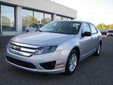 2010 Brilliant Silver Metallic Ford Fusion S #29266254