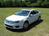 2010 White Platinum Tri-coat Metallic Ford Fusion SEL V6 #29266620