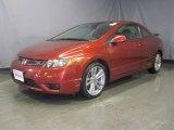 2007 Tango Red Pearl Honda Civic Si Coupe #29266440