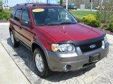 2006 Redfire Metallic Ford Escape XLT V6 #29266657