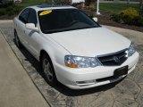2003 White Diamond Pearl Acura TL 3.2 #29266661