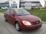2007 Sport Red Tint Coat Chevrolet Cobalt LT Sedan #29266674