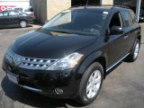 2007 Super Black Nissan Murano SL AWD #29342563