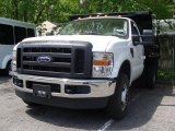 2010 Oxford White Ford F350 Super Duty XL Regular Cab 4x4 Chassis #29342567