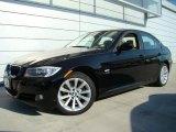 2010 Jet Black BMW 3 Series 328i xDrive Sedan #29342278