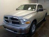 2010 Bright Silver Metallic Dodge Ram 1500 SLT Quad Cab 4x4 #29342317