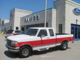 1996 Oxford White Ford F150 XLT Extended Cab 4x4 #29342512