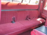 1996 Ford F150 XLT Extended Cab 4x4 Rear Seat