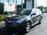 2010 Cyber Gray Metallic Chevrolet Equinox LS #29342350