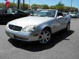 1998 Brilliant Silver Metallic Mercedes-Benz SLK 230 Kompressor Roadster #29342223