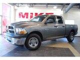 2010 Mineral Gray Metallic Dodge Ram 1500 ST Quad Cab 4x4 #29342548