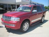 2007 Vivid Red Metallic Lincoln Navigator Luxury #29342726