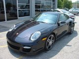 2008 Basalt Black Metallic Porsche 911 Turbo Coupe #11851