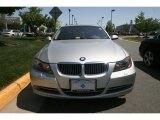 2008 Titanium Silver Metallic BMW 3 Series 335xi Sedan #29404312