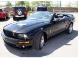 2007 Black Ford Mustang Shelby GT500 Convertible #29404348