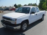 2003 Summit White Chevrolet Silverado 1500 Extended Cab #29404774