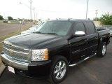 2007 Black Chevrolet Silverado 1500 LS Crew Cab #29404644