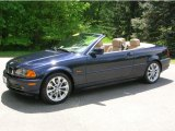 2002 Orient Blue Metallic BMW 3 Series 330i Convertible #29404658