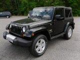2010 Black Jeep Wrangler Sahara 4x4 #29404673