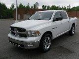 2010 Stone White Dodge Ram 1500 Big Horn Crew Cab 4x4 #29404683