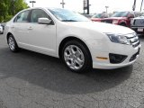 2010 White Suede Ford Fusion SE #29404435